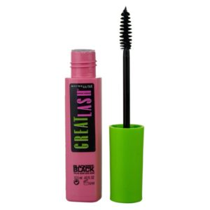 Maybelline - Mascara Great Lash Blackest Black Szempillaspirál 12,5ml
