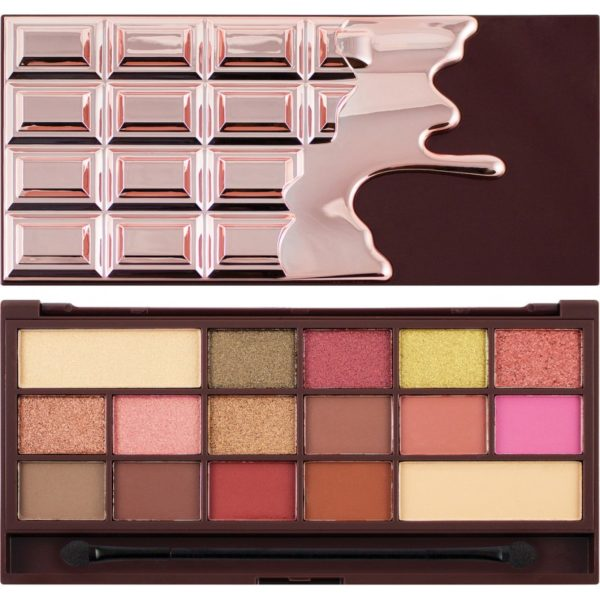 Makeup Revolution I Heart Revolution Chocolate Rose Gold Eyeshadow Palette 22 g