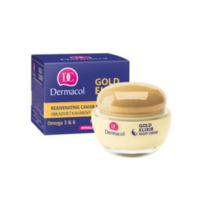 Dermacol Gold Elixir Night Cream 50 ml