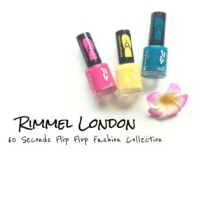 Rimmel 60 Seconds Flip Flop